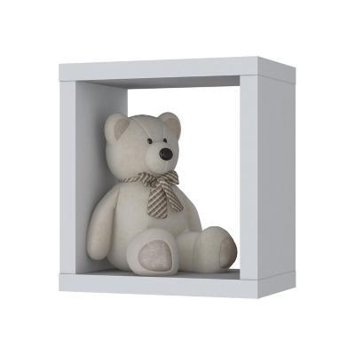Repisa Infantil Blanco MDP 33x30x20 cm