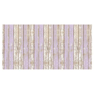 Alfombra Vinílica Madera Violeta 70x140 cm