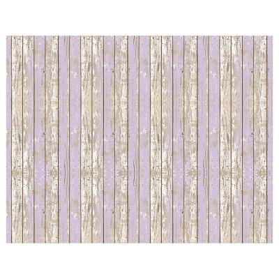 Alfombra Vinílica Madera Violeta 140x180 cm