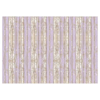 Alfombra Vinílica Madera Violeta 140 x 220 cm
