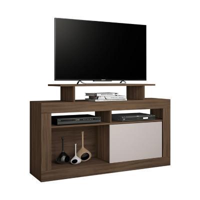 """Rack TV 43"""" 1 Puerta MDP 84x136x37 cm"""