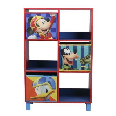 Estante organizador Mickey 6 repisas 90x60x30 cm azul