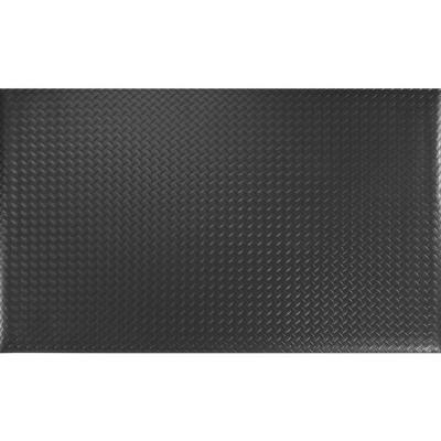 """Alfombra antifatiga 9/16"""" 60x90 cm negro"""