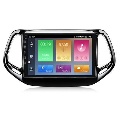 Radio Android 9.1 GPS Touch Jeep Compass genII