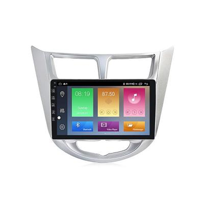 """Radio Android 9.1 GPS 9"""" Touch Hyundai Accent"""