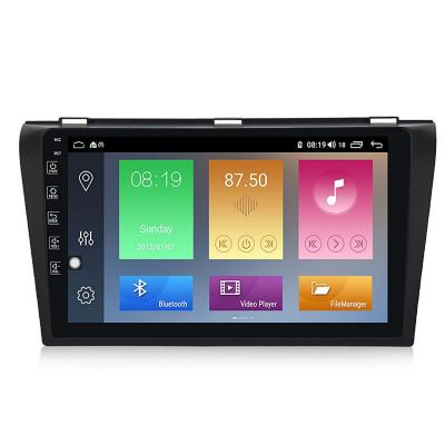 """Radio Android 9.1 GPS 9"""" Touch Mazda 3 Gen I"""