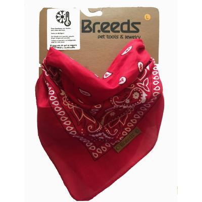 Bandana para mascotas mediana rojo
