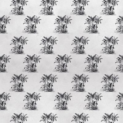 Papel mural palmeras hormigón 100x500 cm