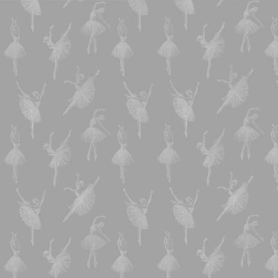 Papel mural bailarinas blancas 100x500 cm