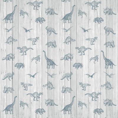 Papel mural dinosaurios tablitas 100x500 cm