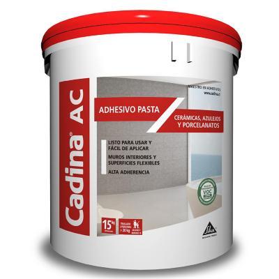Adhesivo cerámico en pasta ac 15 kilos