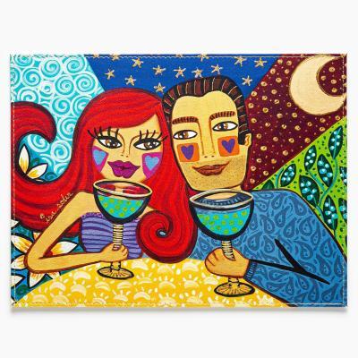 Individuales pareja colorina set 4 un 32x42 cm