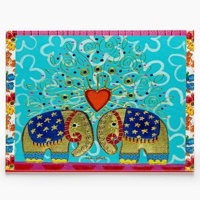 Individuales elefantes set 4 unidades 32x42 cm
