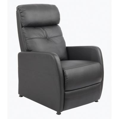 Sillón de descanso reclinable negro
