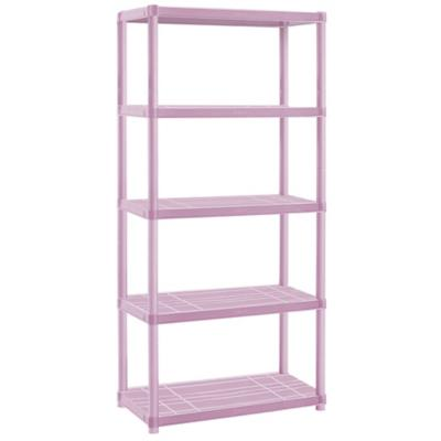Estante infantil plástico 60x30x169 cm rosado