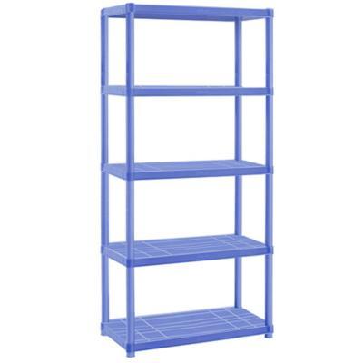 Estante infantil plástico 60x30x169 cm azul