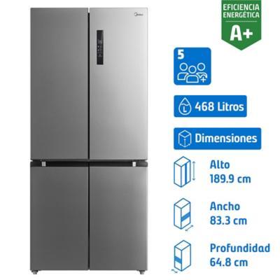 Refrigerador side by side 468 litros