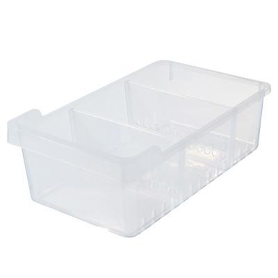 Organizador plástico 3 divisiones