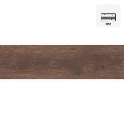 Porcelanato 22x85 cm 1,69 m2 rainforest roble
