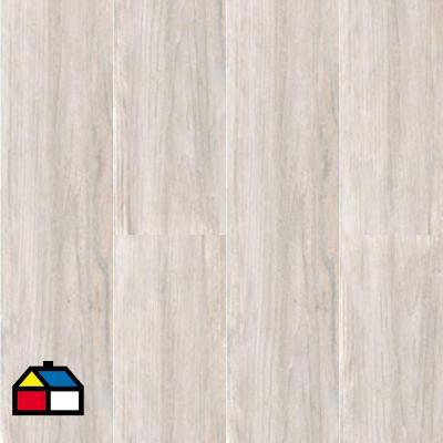 Porcelanato 20x120 cm 1,69 m2 berna blanco