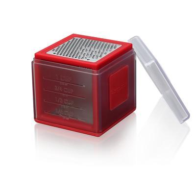 Rallador Cubo Rojo Acero