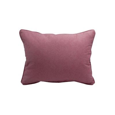 Cojín liso aqua rosa 30x50 cm