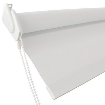 Cortina Roller Blackout Blanco 130x240 cm