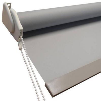 Cortina Roller Blackout Gris 150x170 cm