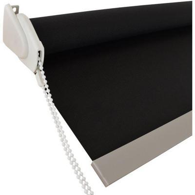 Cortina Roller Sunscreen Negro 85x240 cm