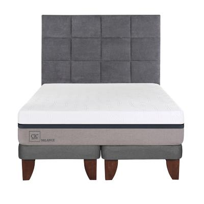Cama europea balance super king + respaldo