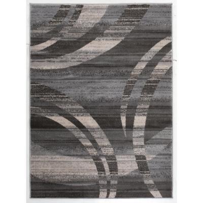 Alfombra heatset Qatar 80x120 cm gris