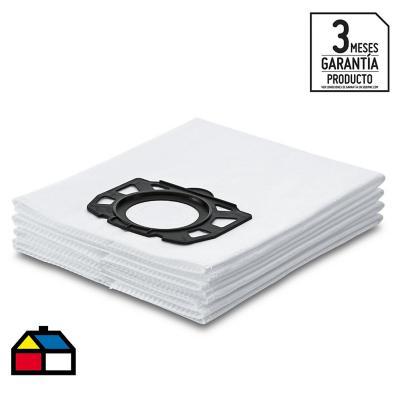 Bolsas filtros de fieltro para aspiradora 4 unidades