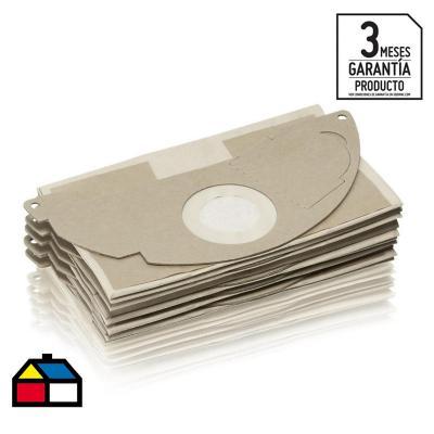 Bolsas filtros de papel para aspiradora 5 unidades