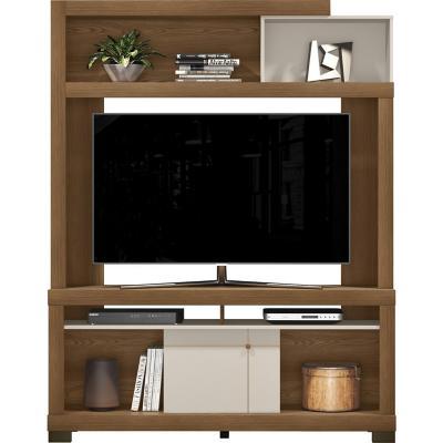 """Rack tv 60"""" Home Laguna Café 204x155x37 cm"""