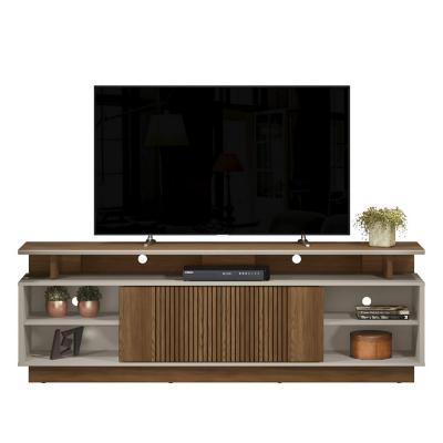 "Rack TV 60"" Café Beige 200x67x38 cm"
