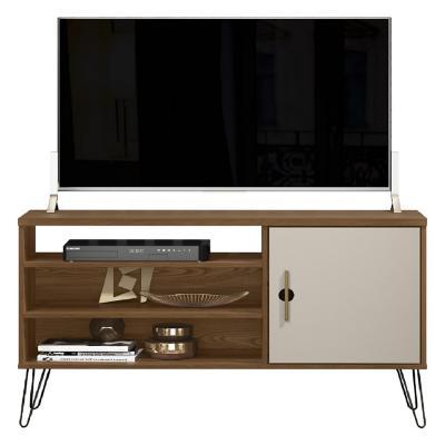 "Rack TV 50"" Paty Café Beige 50"" 120 x69x36 cm"