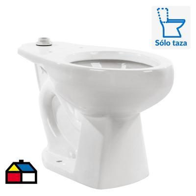 Taza de wc terra handicapped p/fluxometro