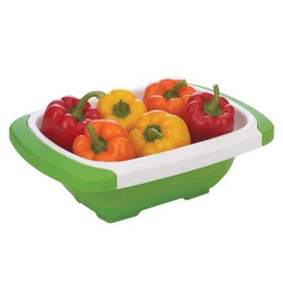 Colador de verduras extensible plástico