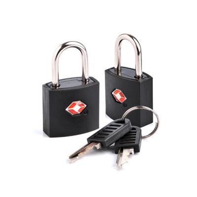 Pack 2 Candado de maleta TSA negro