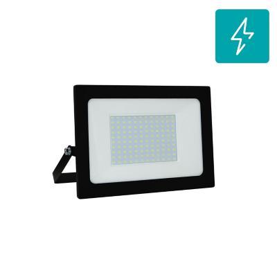 Reflector 100W Luz Cálida Negro