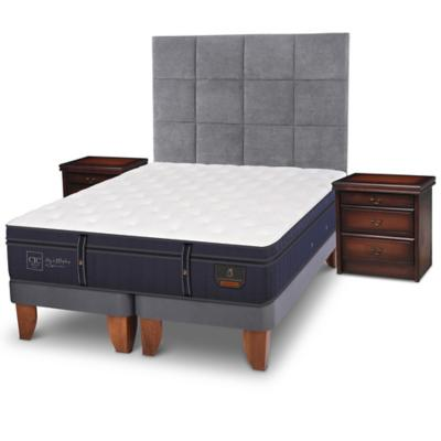 Cama europea grand premium super king + muebles