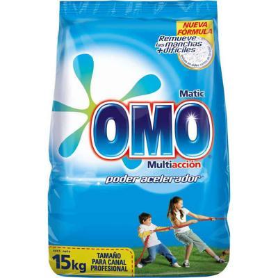 Detergente matic polvo 15 kilos bolsa