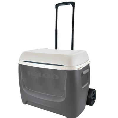 Cooler con ruedas igloo 56 litros