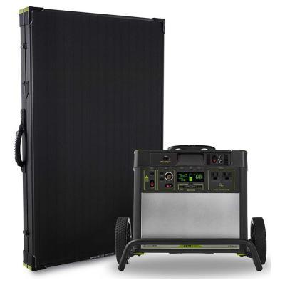 Generador litio yeti 3000 + panel solar boulder 20