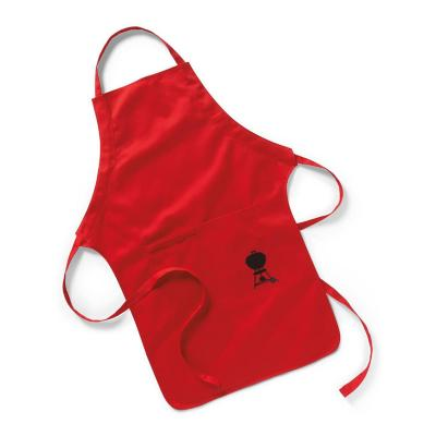 Pechera para asado apron roja