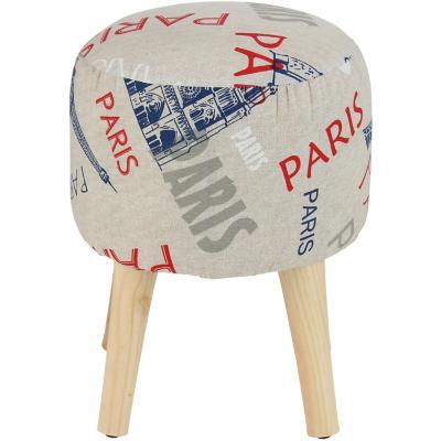 Pouf Redondo Bird Paris 35x5x45 cm