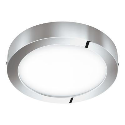 Foco sobrepuesto metal cromo LED 21W