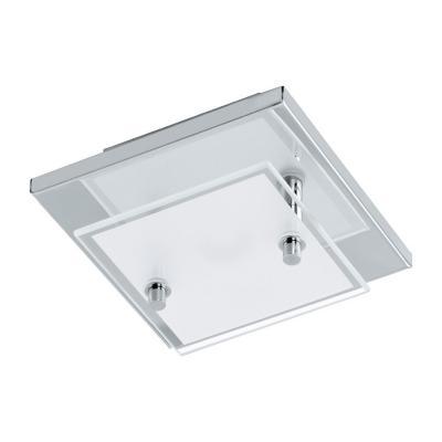 Lámpara techo acero inoxidable cromo LED 1X3,3W