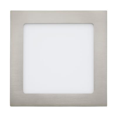 Foco embutido metal niquel satinado LED 10,9W