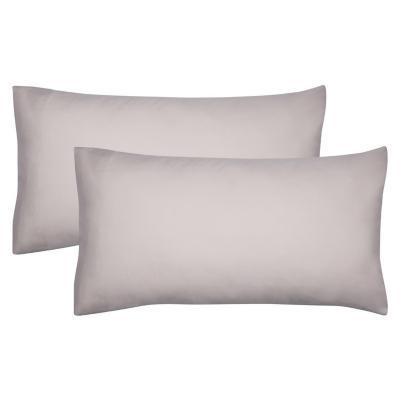 Set funda de almohadas liso sand 52x91 cm